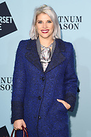 Pips Taylor<br /> arriving for the Skate at Somerset House 2017 opening, London<br /> <br /> <br /> ©Ash Knotek  D3351  14/11/2017