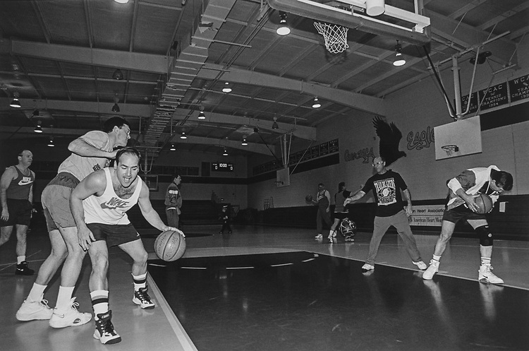 Rep. Zach Wamp, R-Tenn., playing Congressional basketball game in March 1997. (Photo by Rebecca Roth/CQ Roll Call via Getty Images)
