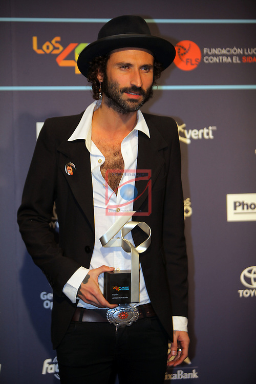 Los 40 MUSIC Awards 2016 - Photocall.<br /> Leiva.