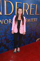 Kyle Richards<br /> at Disney's &quot;Cinderella&quot; Advance Screening, Disney Main Theater, Burbank, CA 03-08-15<br /> David Edwards/DailyCeleb.com 818-249-4998