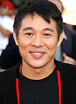 "Actor Jet Li arrives at the American Premiere of ""The Mummy: Tomb Of The Dragon Emperor at the Gibson Amphitheatre on July 27, 2008 in Universal City, California."