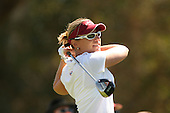 March 26, 2005; Rancho Mirage, CA, USA;  Annika Sorenstam tees off at the 2nd hole during the third round of the LPGA Kraft Nabisco golf tournament held at Mission Hills Country Club.  Sorenstam shot a 6 under par 66 for the day to lead the field by 5 strokes.<br />