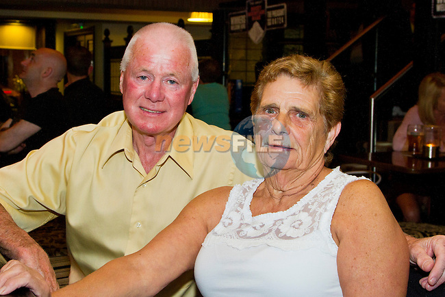 Shea and Bernie Tormey enjoy a night in the Pheasant.<br /> Picture: Shane Maguire / www.newsfile.ie