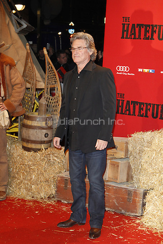 Kurt Russell attending the The Hateful 8 premiere held at Zoo Palast, Berlin, Germany, 26.01.2016. <br /> Photo by Christopher Tamcke/insight media /MediaPunch ***FOR USA ONLY***