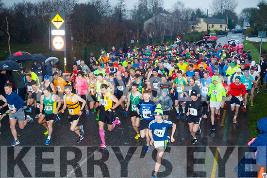 Massive support for the Maine Valley Athletic Club organised 5km run on St Stephans day.