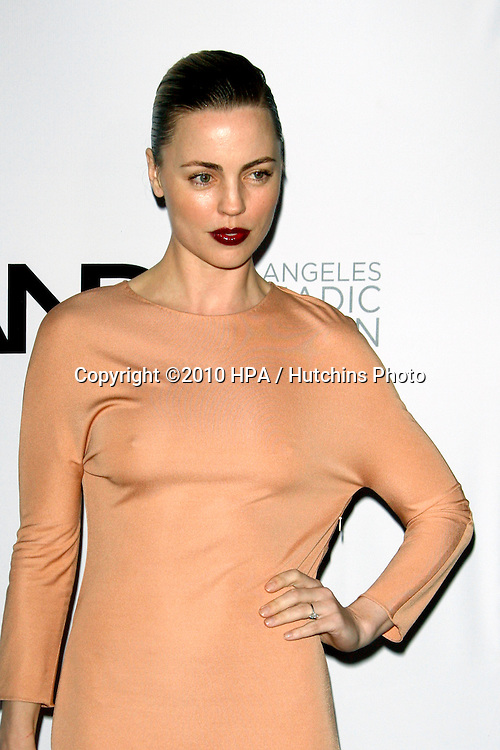 Melissa George.arriving at the Calvin Klein collection and LOS ANGELES NOMADIC DIVISION Present a Celebration of L.A. ARTS MONTH.Calvin Klein Store.Los Angeles, CA.January 28, 2010.©2010 HPA / Hutchins Photo....