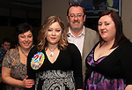 Julie, Ceara, Paul and Eleanor McKenna in Bru for Ceara's 21st birthday..Picture: Shane Maguire / www.newsfile.ie.