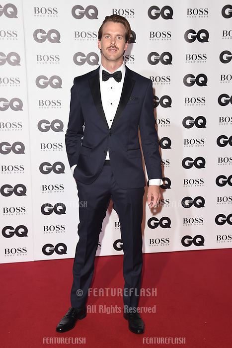 LONDON, UK. September 05, 2018: Chris Burt Allen at the GQ Men of the Year Awards 2018 at the Tate Modern, London