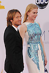 LOS ANGELES, CA - SEPTEMBER 23: Keith Urban and Nicole Kidman  arrive at the 64th Primetime Emmy Awards at Nokia Theatre L.A. Live on September 23, 2012 in Los Angeles, California.