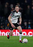 Matthew Clarke of Derby County during the FA Cup match at the Pride Park Stadium, Derby. Picture date: 4th February 2020. Picture credit should read: Darren Staples/Sportimage