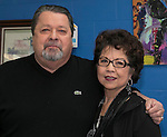 Richard and Suejan Sipiora during the Jack T. Reviglio Cioppino Feed & Auction at the Donald W. Reynolds Facility in Reno on Saturday, February 25, 2017.