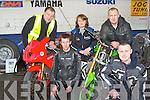DYNO FUN: Enjoying the Dyno Day in aid of Down Syndrome Ireland at O'Neill's power equipment, Clash, Tralee on Saturday pictured Vinny Hillard, Brid O'Grady, Chris Reidy, Shane Flynn and Dermot O'Rahilly.
