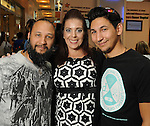 From left: Steven Bernal, Christina Hope and Christian Bernal at the M.D. Anderson Back to School Fashion show at the Galleria Saturday Aug. 06,2016.(Dave Rossman Photo)
