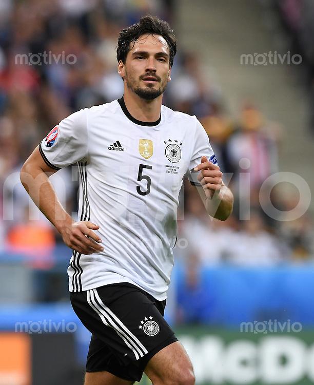 FUSSBALL EURO 2016 GRUPPE C IN PARIS Deutschland - Polen    16.06.2016 Mats Hummels (Deutschland)