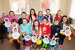 Easter bunnies<br /> --------------------<br /> Having fun at the annual Easter craft day in the Castleisland family resource last Saturday were,front L-R KellyAnn Nix,Katelyn O'Sullivan,Katie Kerins,Brid Fitzgerald,DJ Long&amp;Michelle Burke,back L-R Ciara Casey,Thomas Keane,Aine Murphy,Jessica O'loughlin,Katie Cotter and Molly Mahony