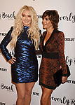 CULVER CITY, CA - OCTOBER 21: TV personalities Erika Jayne (L) and Lisa Rinna attend the Dorit Kemsley Hosts Preview Event For Beverly Beach By Dorit at the Trunk Club on October 21, 2017 in Culver City, California.