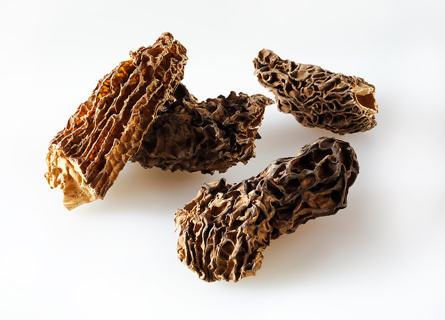 Dried Jumbo Morel mushrooms