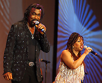 Ashford and Simpson performing at the 40th. Legislative Conference Dinner (CBC) on Saturday, September 18, 2010. Photo by Errol Anderson