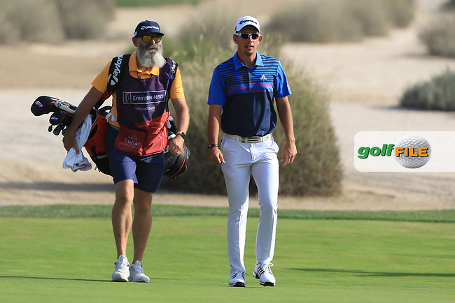 Lucas Herbert (AUS) on the 16th during Round 4 of the Omega Dubai Desert Classic, Emirates Golf Club, Dubai,  United Arab Emirates. 27/01/2019<br /> Picture: Golffile | Thos Caffrey<br /> <br /> <br /> All photo usage must carry mandatory copyright credit (&copy; Golffile | Thos Caffrey)