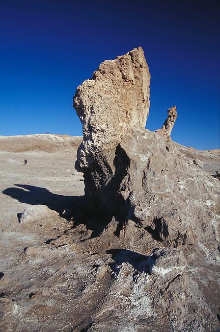 Vallee de la Lune. San Pedro de Atacama. Depression situee dans la Codillere del Sal. *** Moon valley, San Pedro de Atacama, Chile.
