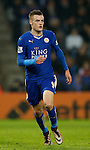 Jamie Vardy of Leicester City  - English Premier League - Leicester City vs Chelsea - King Power Stadium - Leicester - England - 14th December 2015 - Picture Simon Bellis/Sportimage