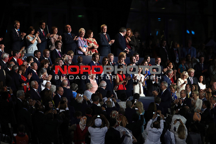 27.07.2012., England, London - Opening ceremony of Summer Olympic Games London 2012.<br /> <br /> Foto &copy;  nph / PIXSELL / Sajin Strukic