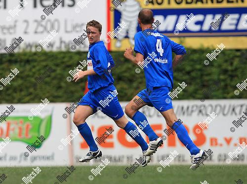 2010-08-01 / Voetbal / seizoen 2010-2011 / KFC Katelijne / Tim Van Rompay..Foto: mpics
