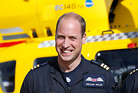 Prince William Final Shift With The East Anglian Air Ambulance