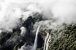 Nohkalikai Falls, The name of the falls in Khasi language meaning &quot;Jump of Ka Likai&quot; is linked to a legend about local women Likai who jumped off the cliff next to the falls; According to legends, in a village called Rangjyrteh, upstream from Nohkalikai Falls, a woman named Likai resided but had to remarry after her husband died. Ka Likai (Ka is the prefix given for the female gender in Khasi) was left with her infant girl with no means of income. So she had to become a porter herself. Her work required her to leave her daughter unattended for long intervals but when she would be at home she would spend most of her time taking care of her infant. Ka Likai, who married a second time, couldn&rsquo;t pay attention to her second husband. The jealous husband killed the infant and cooked her meat after throwing away her head and bones. When Ka Likai returned home, she saw nobody in the house but except for a meal that had been prepared. She wanted to go look for her daughter but she ate the meat as she was tired from work.<br /> <br /> Ka Likai usually had a betel leaf after her meals but she found a severed finger near the place where she usually cut betel nuts and betel leaves. Ka Likai realized what had happened in her absence and went mad with anger and grief and started running as she swung a hatchet in her hand. She ran off the edge of the plateau and the waterfall where she jumped from was named Nohkalikai Falls after her.<br />