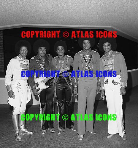 Jackson 5; 1978: Offstage<br /> Photo Credit: James Fortune/AtlasIcons.com