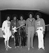Jackson 5; 1978: Offstage<br /> Photo Credit: James Fortune/AtlasIcons.com