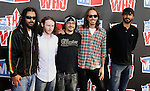 Musicians Chris Kilmore, Mike Einziger, Jose Pasillas, Brandon Boyd and Benjamin Kenney of Incubus (L-R) arrive at the 2008 VH1 Rock Honors: The Who at Pauley Pavilion on the UCLA Campus on July 12, 2008 in Westwood, California. California.