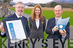 Liam Campbell, Failte Ireland, pictured as he presented the Optimus Award to Sarah Mannix and Niall Huggard, the Lake Hotel, Killarney on Tuesday. ..Picture: Ger Cronin LMPA (087) 0522010..PR SHOT...NO FEE....................