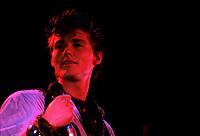 Le groupe norvegien A-HA le 18 Octobre 1986, Auditorium de Verdun.<br /> <br /> Ils sont devenu celebres avec le revolutionnaire video clip Take On Me , en 1985.<br /> <br /> PHOTO : Agence Quebec Presse - Harold Beaulieu