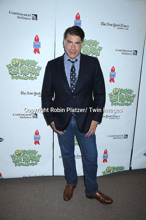 Bryan Batt  posing for photographers at The Broadway Cares/ Equity Fights Aids 24th Annual Broadway Flea Market & Grand Auction on September 26, 2010 in Shubert Alley..photo by Robin Platzer/ Twin Images.212-935-0770