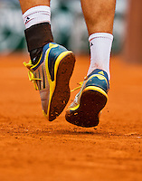 30-05-13, Tennis, France, Paris, Roland Garros, Service on claycourt