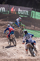 Riders at Spanish Motocross Championship at Albaida circuit (Spain), 22-23 February 2014