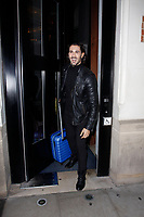 LONDON, ENGLAND - OCTOBER 08 :  Graziano Di Prima leaves the production of 'Strictly Come Dancing : It Takes Two', at The Hospital Club Studios on October 08, 2018 in London, England.<br /> CAP/AH<br /> &copy;AH/Capital Pictures