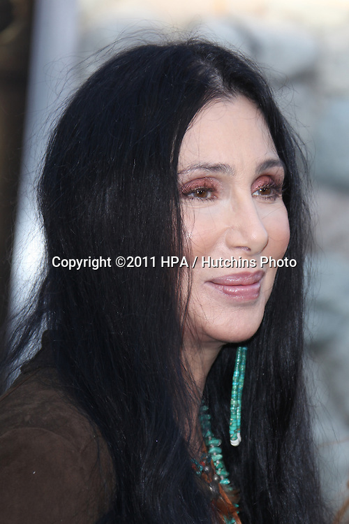 "LOS ANGELES - JUL 6:  Cher arriving at the ""Zookeeper"" Premiere at Regency Village Theater  on July 6, 2011 in Westwood, CA"