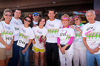 James Denton, one of the leading stars of &quot;Desperate Housewives&quot; was honorary chair of the fourth annual Susan G. Komen Southwest Florida Race for the Cure fundraiser at Coconut Point in Estero, Florida. &quot;I lost my mother to breast cancer six years ago,&quot; said Denton before stepping out on stage, &quot;these people are my family now.&quot; <br /> Photo by Debi Pittman Wilkey