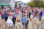 The large crowd that gathered at the Dancing at the Crossroads in Kilcummin village on Sunday afternoon