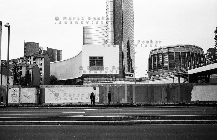 Milano, quartiere Porta Nuova Garibaldi --- Milan, Porta Nuova Garibaldi district