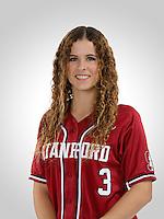 Stanford Softball Portraits, January 19, 2017