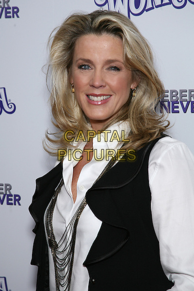"DEBORAH NORVILLE .Special Screening of ""Justin Bieber: Never Say Never"" at the Regal 42nd Street E-Walk Cinemas, New York, USA, 2nd February 2011..portrait headshot smiling necklace white shirt black waistcoat .CAP/LNC/TOM.©LNC/Capital Pictures."