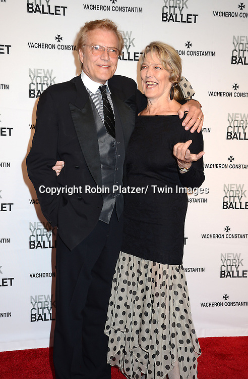 Peter Martins and sister attends the New York City Ballet Spring 2014 Gala on May 8, 2014 at David Koch Theatre in Lincoln Center in New York City, NY, USA.