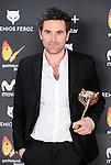 Mauro Herce win the award at Feroz Awards 2017 in Madrid, Spain. January 23, 2017. (ALTERPHOTOS/BorjaB.Hojas)