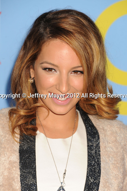 HOLLYWOOD, CA - SEPTEMBER 12: Vanessa Lengies arrives at the 'GLEE' Premiere Screening And Reception at Paramount Studios on September 12, 2012 in Hollywood, California.