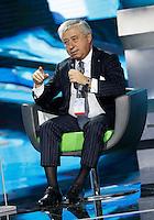 Antonio D'Amato partecipa ad un convegno di Confindustria a Napoli