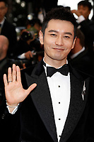 "Huang Xiaoming at the ""Burning"" premiere during the 71st Cannes Film Festival at the Palais des Festivals on May 16, 2018 in Cannes, France. Credit: John Rasimus / Media Punch ***FRANCE, SWEDEN, NORWAY, DENARK, FINLAND, USA, CZECH REPUBLIC, SOUTH AMERICA ONLY***"