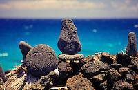 Petroglyphs at Lapakahi State Historical Park, on the Big Island